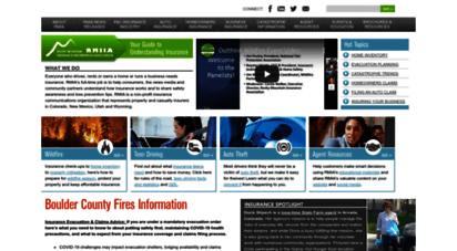 rmiia.org - auto and homeowners insurance information for colorado, new mexico, utah, wyoming