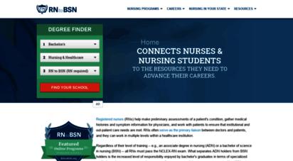 rntobsn.org - compare top rn to bsn programs - rntobsn.org