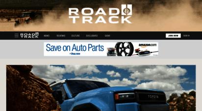 roadandtrack.com - road and track homepage