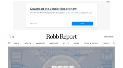 robbreport.com - robb report - the best luxury cars, jets, yachts, travel, watches