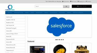 roboindia.com - robo india  robotics india  robots  embedded system  automation  avr  arduino