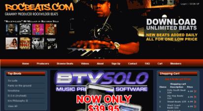 Welcome to Rocbeats com - Download Beat Maker Rockwilder