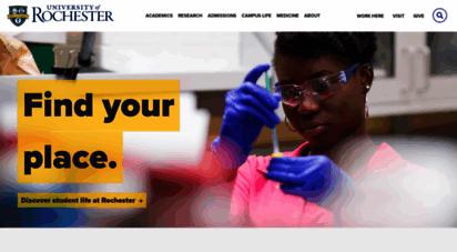 rochester.edu - university of rochester
