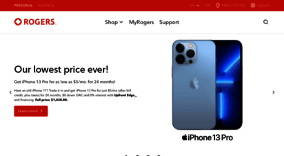rogers.com - rogers: wireless, internet, tv, home monitoring, and home phone