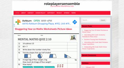 roleplayersensemble.com