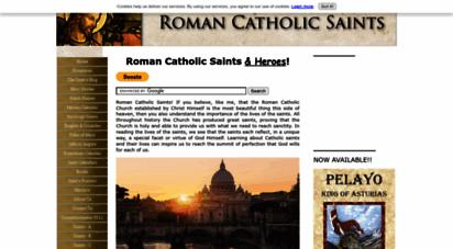 roman-catholic-saints.com - roman catholic saints, st. fernando iii, el cid, definition of a saint, male and