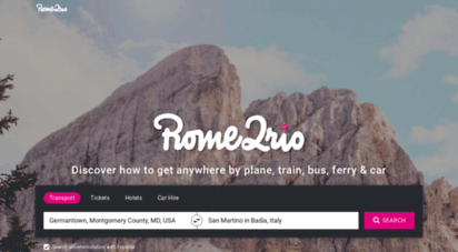 rome2rio.com - rome2rio: discover how to get any