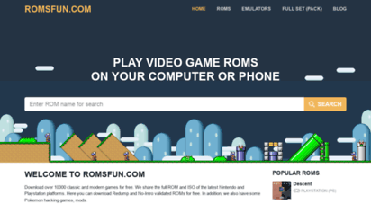 romsforever.co - romsforever  download roms and isos of nintendo, playstation, xbox...