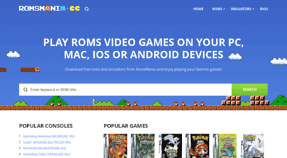 romsmode.com - roms free download for gba, snes, nds, gbc, gb, n64, nes, ps1, ps2, psp, mame, sega and more! - romsmode.com