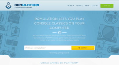romulation.net - play console classics on your computer - ps3 isos, ps2 isos, wii isos and more! - romulation