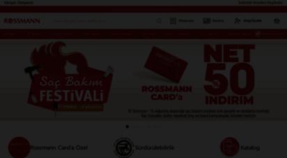 rossmann.com.tr - rossmann türkiye online alışveriş  indirimli ürünler
