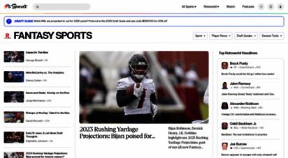 rotoworld.com - nbc sports edge fantasy sports news and anlysis for nfl, mlb, nba, nhl, cfb, golf, epl and nascar
