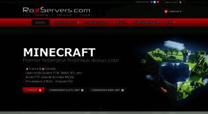roxservers.com - roxservers.com - gameservers - voice servers - dedicated servers