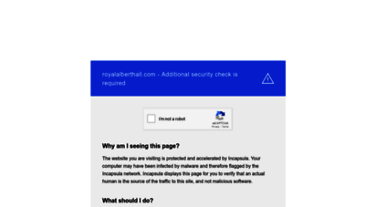 royalalberthall.com -