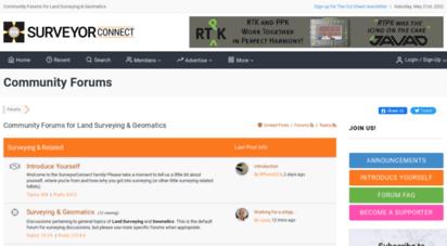 rplstoday.com - rpls today  news & community forums for land surveying & geomatics