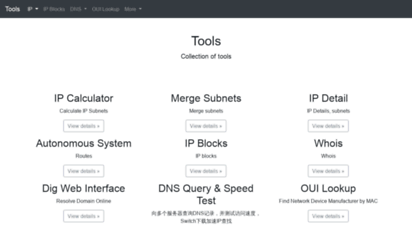 Welcome to Rst im - Tools | ip, calculator, subnet, cidr to