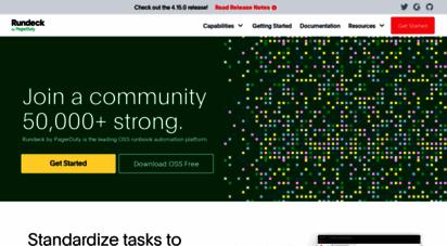 rundeck.org -