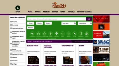 rwim.ro - rwim - catalog de firme si oferte din industria lemnului