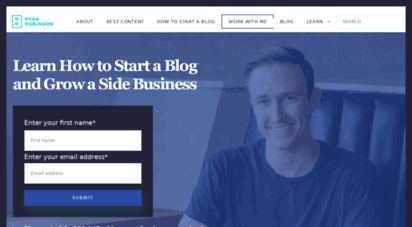 ryrob.com - a blog by ryan robinson: learn to blog and make money on the internet