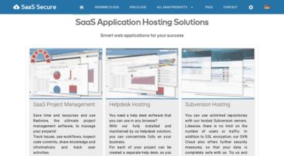 saas-secure.com - saas - anwendungs-hosting auf knopfdruck, hosting in perfektion