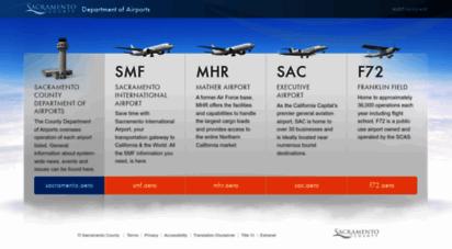 sacramento.aero - sacramento county airport system