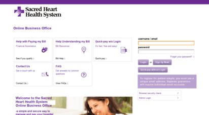 sacred-heart.patientsimple.com -