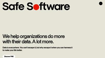 safe.com - safe software  fme  data conversion  data integration