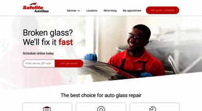 safelite.com - windshield repair & replacement  safelite