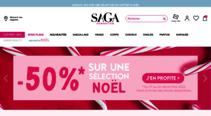 sagacosmetics.com -