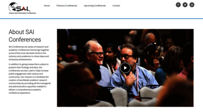 saiconference.com - sai conferences call for papers