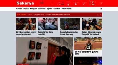 sakaryagazetesi.com.tr - sakarya gazetesi  eskişehir