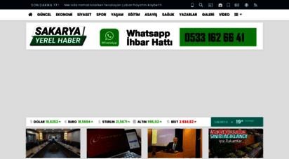 sakaryayerelhaber.com - sakarya yerel haber - sakarya yerel haber 16 ilçeden 24 saat haber