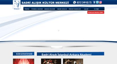 sakm.net - sadri alışık kültür merkezi