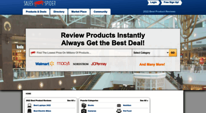 salespider.com - compare 1000´s of prices & get the best prices.