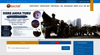saltur.com.tr - saltur turizm ve seyahat acentesi