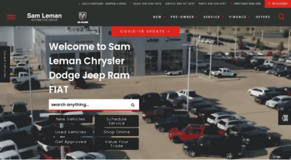 Sam Leman Morton Illinois >> Welcome To Samlemanmorton Com Sam Leman Chrysler Dodge