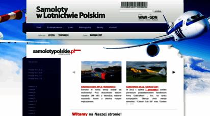 samolotypolskie.pl - samolotypolskie.pl - samoloty w lotnictwie polskim