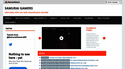 samurai-gamers.com - samurai gamers