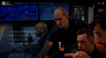 sandia.gov - sandia national laboratories:exceptional service in the national interest