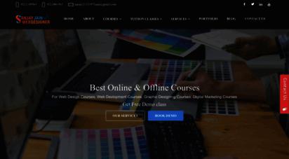 sanjaywebdesigner.com - web design courses  graphic design courses  animation courses