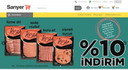 sariyermarket.com - sarıyer marketler zinciri