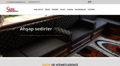 sarkdekorasyon.com - sedir, şark köşesi, bakır, istanbul, şark odası