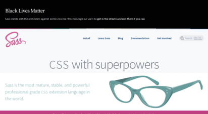 sass-lang.com - sass: syntactically awesome style sheets