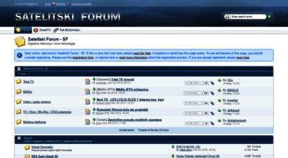 satelitskiforum.com - naslovnica - satelitski forum - sf