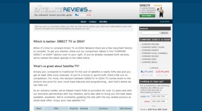 satellite-reviews.net - directv vs dish network comparison » 2021 satellite tv guide