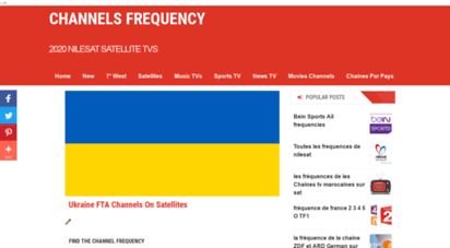 satfrequence.com - channels frequency