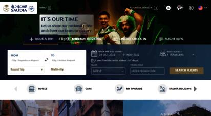 saudia.com - saudia  book flights  hotels  holidays packages