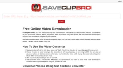 saveclipbro.com -