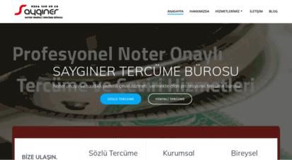 sayginertercume.com - anasayfa - saygýner yeminli tercüme bürosu 0216 310 10 18