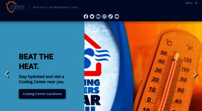 sbcounty.gov - san bernardino county - official website